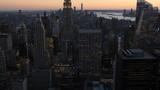 4K panoramic view of Manhattan, New York City, USA - 247540359