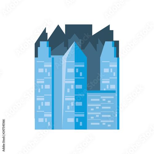 buildings cityscape scene icon