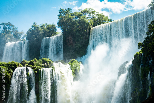 The Amazing waterfalls of Iguazu in Brazil - 247563156