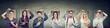 Leinwanddruck Bild - Group of happy smiling people