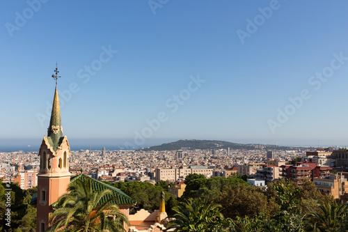 fototapeta na ścianę Blick über Barcelona, Spanien