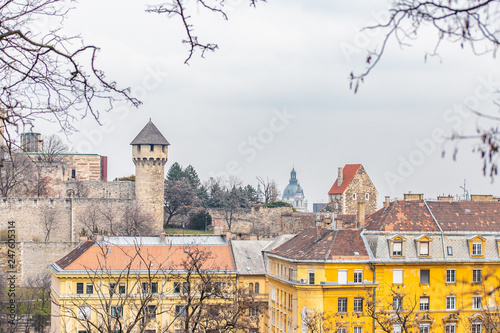 cityscape of eastern europe - 247605314