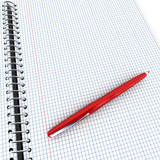 Notebook and pen - 247606714