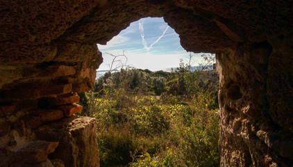 Arco iris desde la torre vigía.