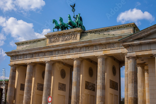 The Brandenburg Gate in Berlin © chrisdorney