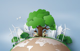 Eco and environment concept