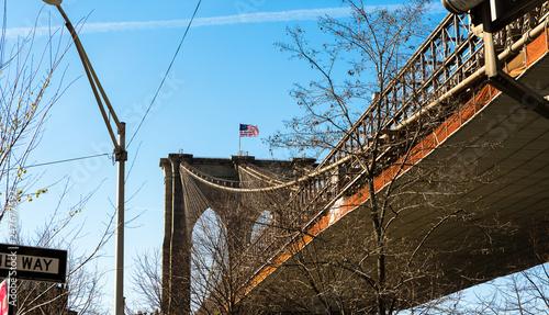 fototapeta na ścianę Brooklyn Bridge, New York