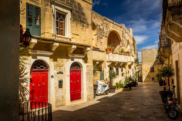 Victoria (also known as Rabat) is the capital of Gozo Island, in Malta