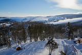 Winterlandschaft im Erzgebirge rund um Oberwiesenthal und den Fichtelberg