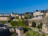 Luxembourg city cityscape - 247761110