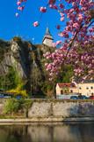 Vianden castle in Luxembourg - 247761318