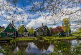 Village Zaanse Schans in Netherlands - 247761338