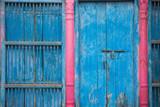 Indian colorful facade