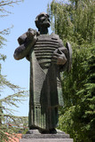 Ivan Crnojevic monument in Cetinje, the old capital of Montenegro - 247815515