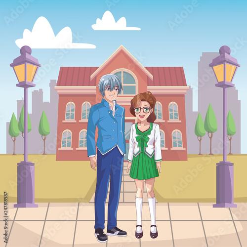 couple anime manga - 247818587