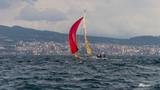 Sailing regatta in the Gulf of Naples year 2016 - 247842376