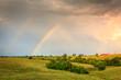 Quadro Rainbow over farmland in Central Kentucly