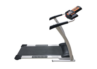 treadmill isolated on white background © sergiy1975