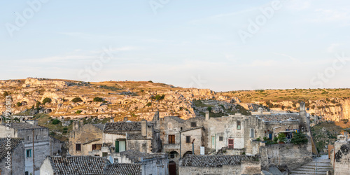 Sassi of Matera. UNESCO World Heritage Site - 247926503