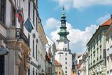BRATISLAVA, SLOVAKIA - June 27, 2018: Traditional Cathedral building in Bratislava, Slovakia