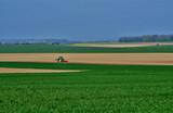 Vaudancourt, France - april 3 2017 : tractor - 247951581