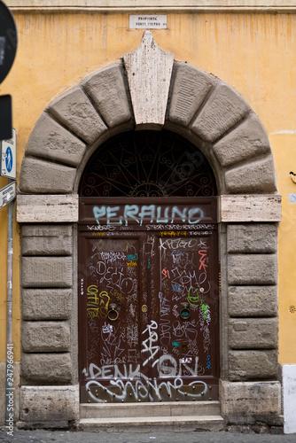 fototapeta na ścianę Porte ancienne rome