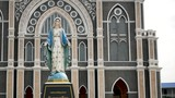 Cathedral of the Immaculate Conception, Chanthaburi, The Cathedral of the Immaculate Conception is a Catholic church and is located in the city of Chanthaburi Province  in Thailand - 247976308