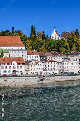 fototapeta na ścianę Steyr, Upper Austria, river Enns