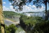 Rainbow in de waterfalls