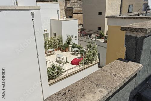 Italia Puglia Lecce terrazzi