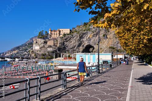 Maiori Amalfi Coast Salerno Italy © maudanros