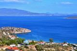 Greece-view of Tolo and coast Peloponnese