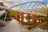 Castlefield is an inner city conservation area in Manchester, UK - 248072912