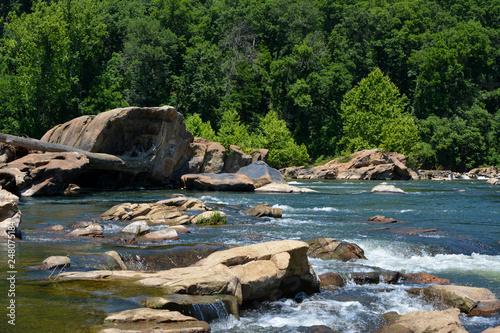 Rappahannock River near Fredericksburg, Virginia - 248075184