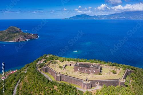 Leinwanddruck Bild Iles des Saintes. French Guadeloupe. Caribean island.