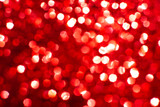 Bokeh lights red texture. New year background. - 248086386