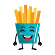 french fries kawaii character - 248087963