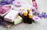 Lavender spa set