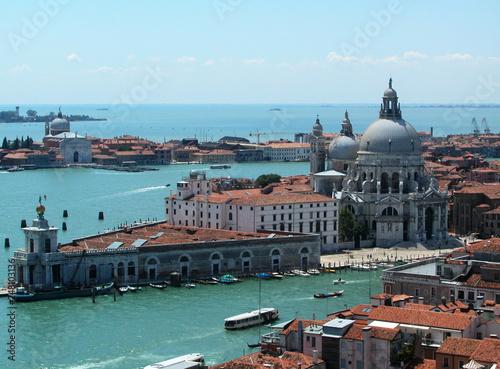 Different views of Venice, Santa Maria della salute