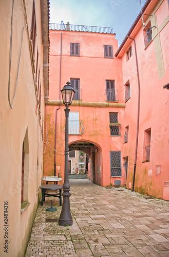 Traditional Mediterranean alley