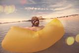 détente et plaisir au bord du lagon