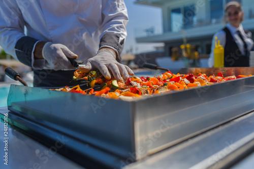 Foto Murales Dettagli - Matrimonio - Buffet - Salato