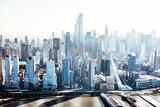 Manhattan Skyline With New World Trade Center - 248124969