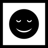 Vector Calm Emoji Icon - 248150199