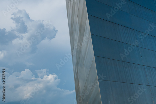 Corner of Arch with Sky - 248157956