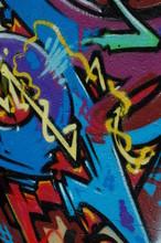 "Постер, картина, фотообои ""graffiti wall architecture texture urban grunge"""