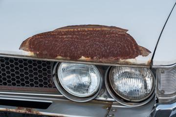 車のボディ 劣化とさび Car body deterioration and rust, dents