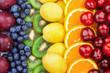 Fresh fruits.Assorted fruits colorful background. Color range - 248181547