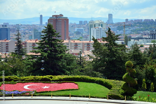 Panorama Ankary w Turcji