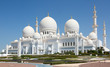 Leinwandbild Motiv Sheikh Zayed mosque